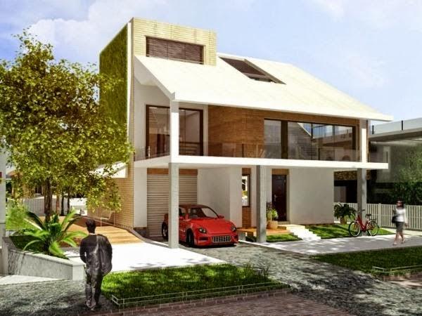 model rumah minimalis Sederhana Terpopuler9