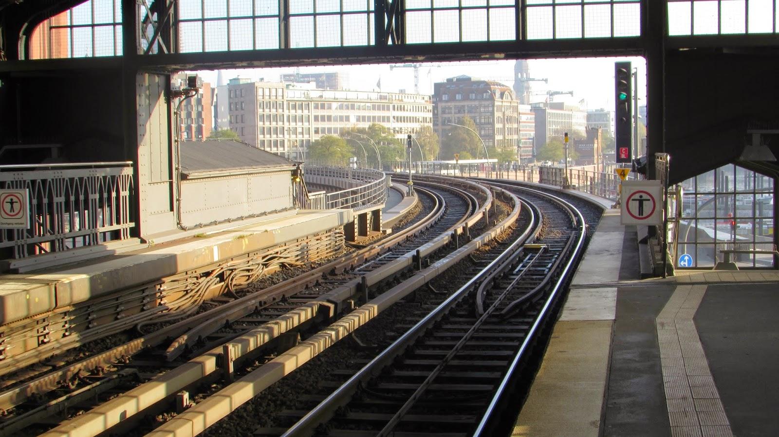 tory, metro, Hamburg