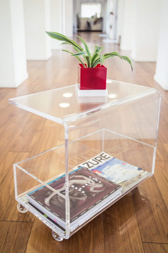 tavolino soggiorno trasparente