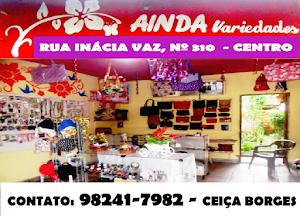 AINDA VARIEDADES - RUA INÁCIA VAZ, Nº 310 - CENTRO - BURITI - MA