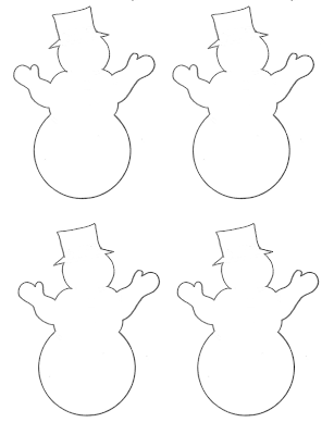 Displaying 20> Images For - Blank Snowman Template...
