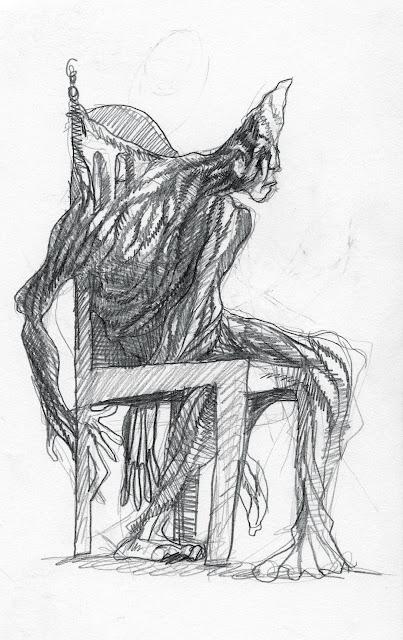 cadeira homeme intimamente cotidiano embruxado