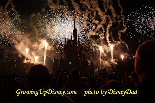 MNSSHP Happy Hallowishes Fireworks Magic Kingdom