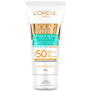 protetor Solar Expertise Facial Toque Seco FPS-50 L'Oréal