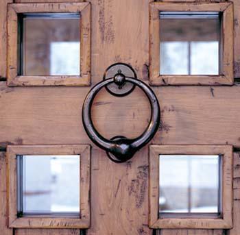 Door Knocker & TARA DILLARD: Door Knocker