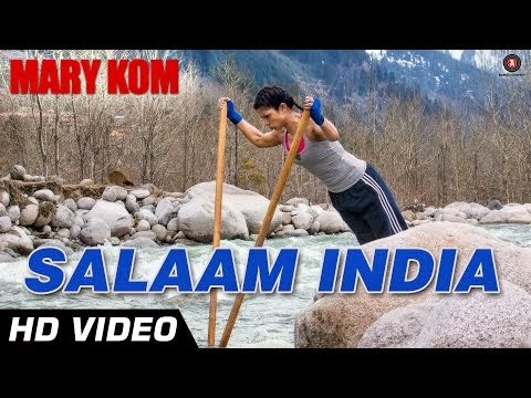 Salaam India from Mary Kom (2014) | Priyanka Chopra