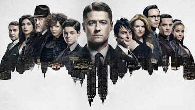 """Gotham Season 2 """"Rise of the Villains"""" Teaser One Sheet Television Poster"""
