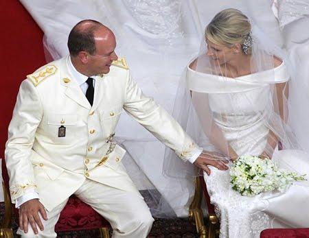 Сватбата в Монако - църковен брак