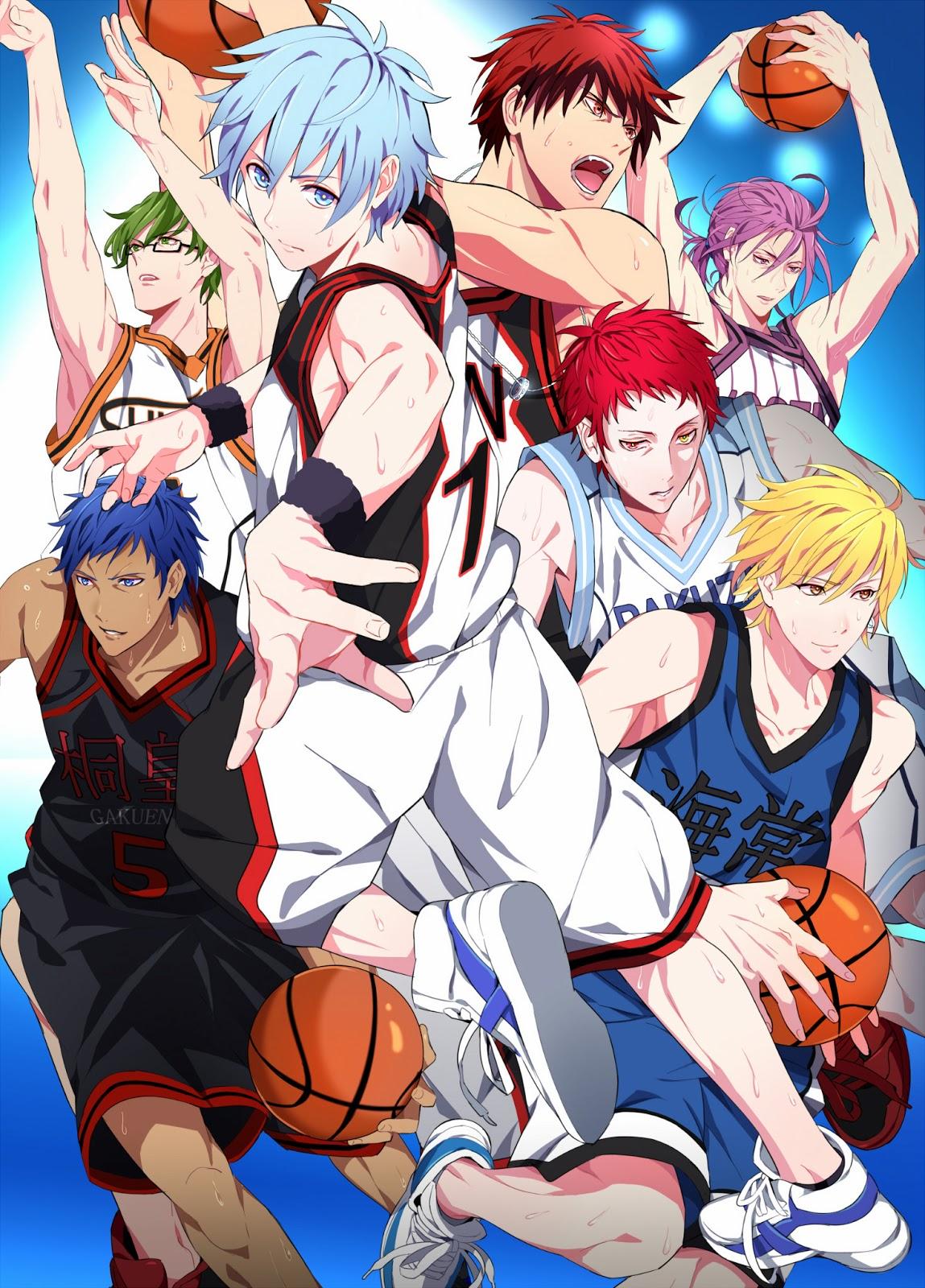 Anime Reviews: Kuroko no Basuke