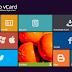 Download Template Metro VCard Seperti Windows 8 Gratis