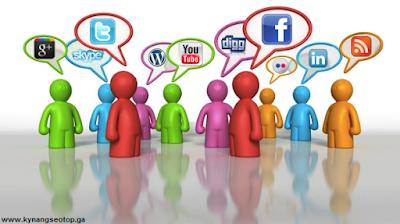 Đi link mạng xã hội