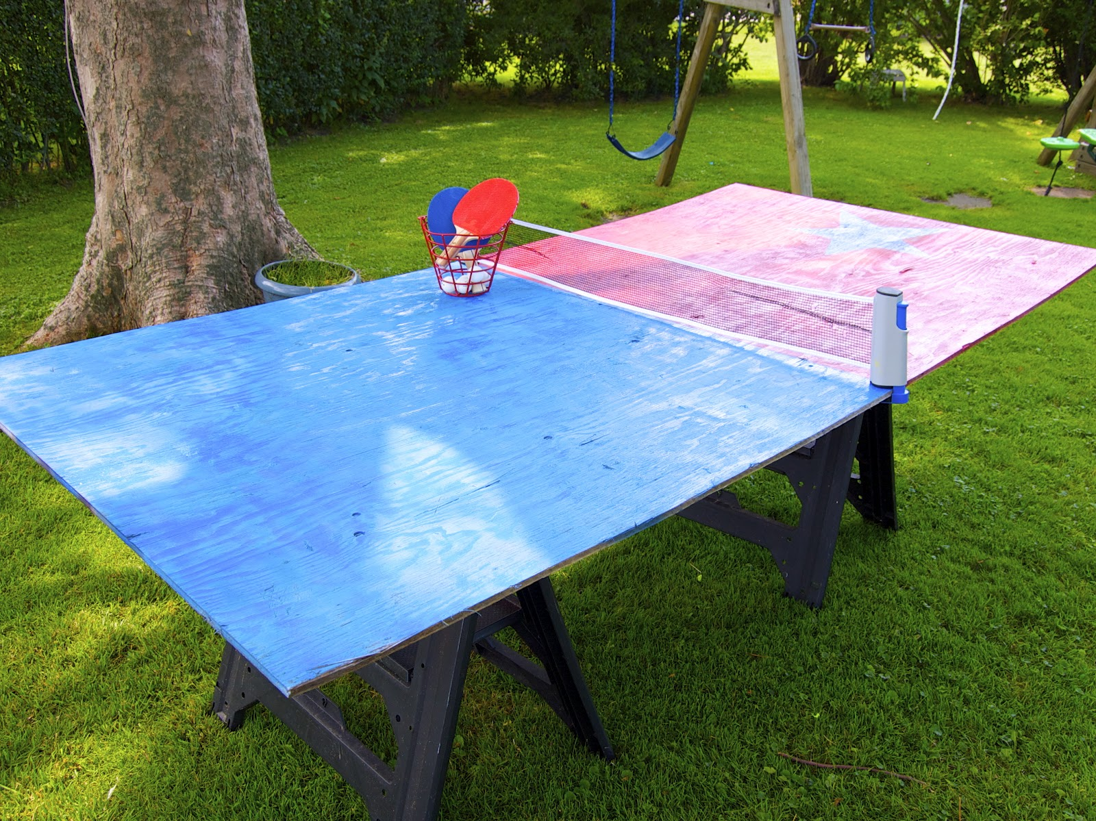Теннисный стол своими руками для 40