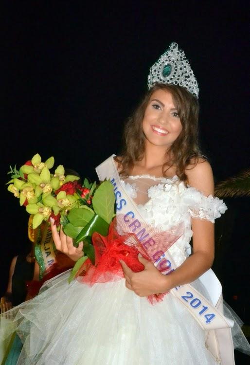 Miss Crne Gore Montenegro 2014 winner Natasa Novakovic