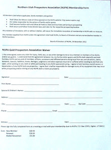 NUPA MEMBERSHIP APPLICATION