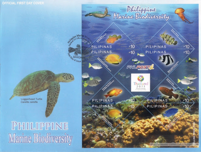 Philippine Marine Biodiversity Official First Day Cover