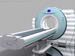 open cat scan machine