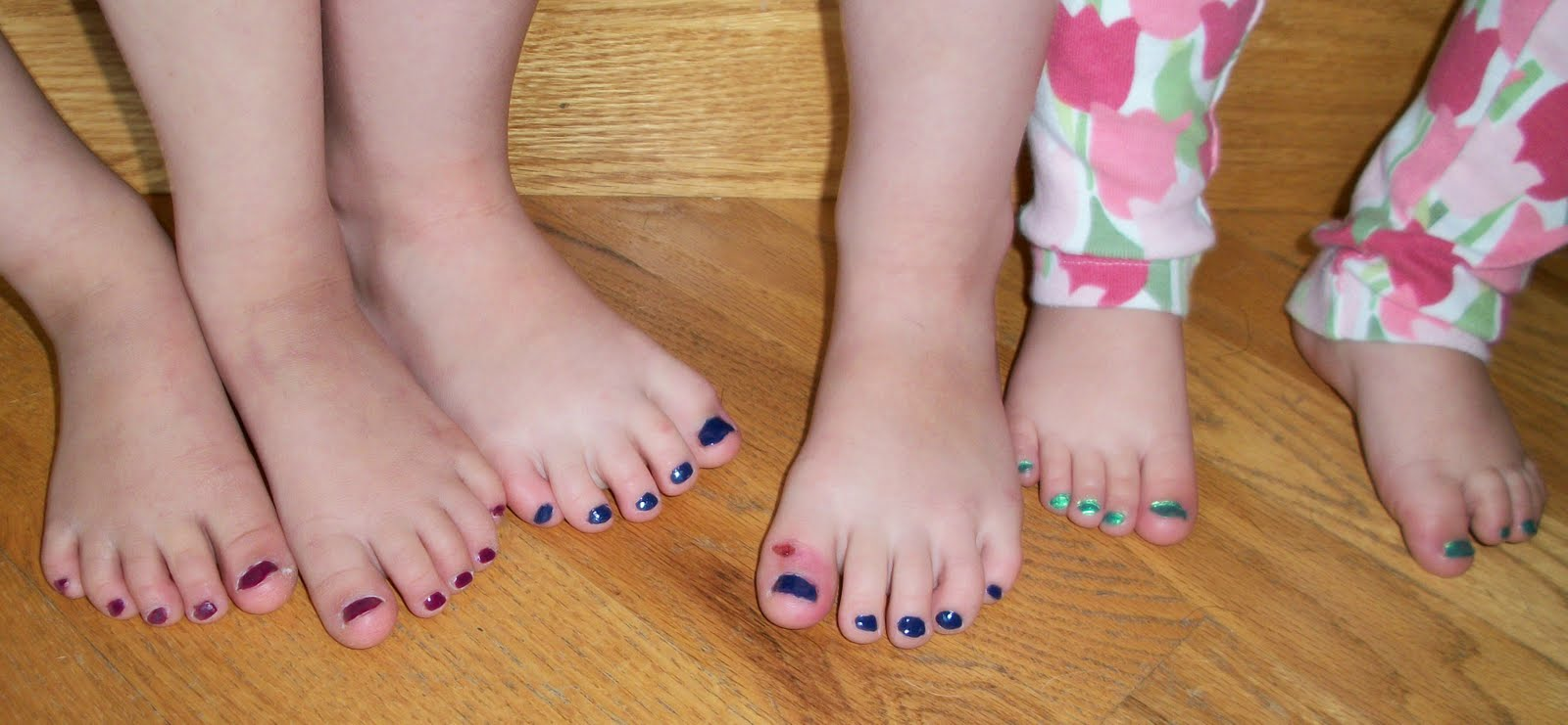 fifty tiny toes: picture of the day: thirty tiny pedicured toes