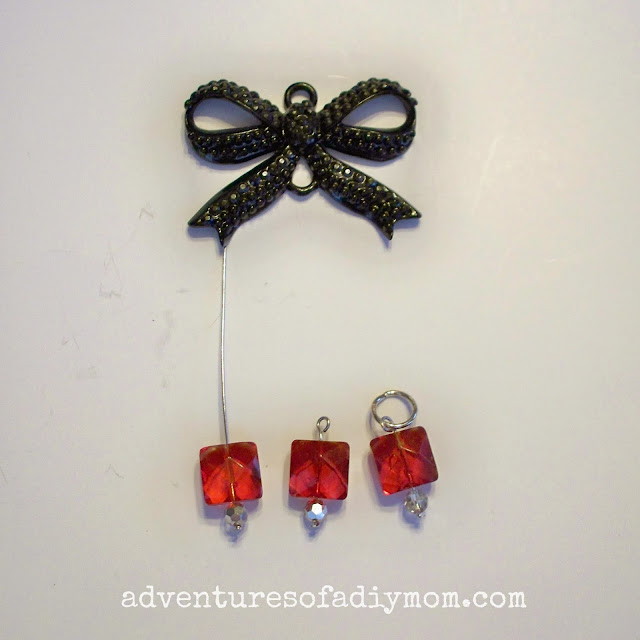 easy bow pendant necklace