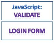 javascript function to validate login form confirm password length