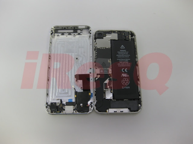 iPhone 4S vs iPhone 5 shell
