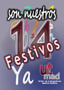 14 Festividades ya!!