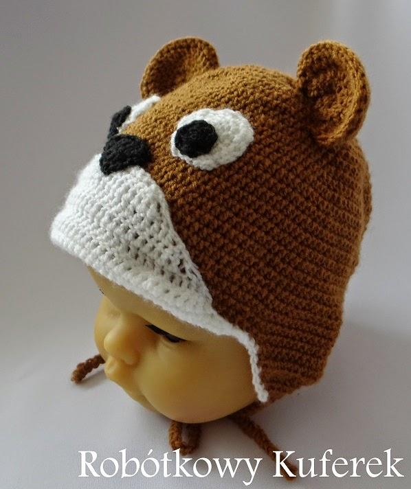 czapka miś