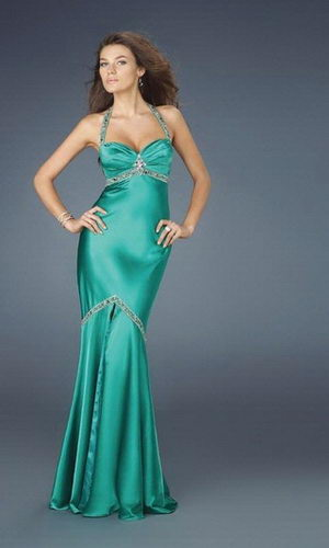 Beaded-Spaghetti-Straps-Green-Prom-Gowns