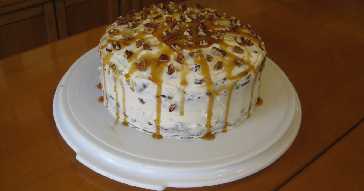 Making a Living: Eat: Praline Pumpkin Cake