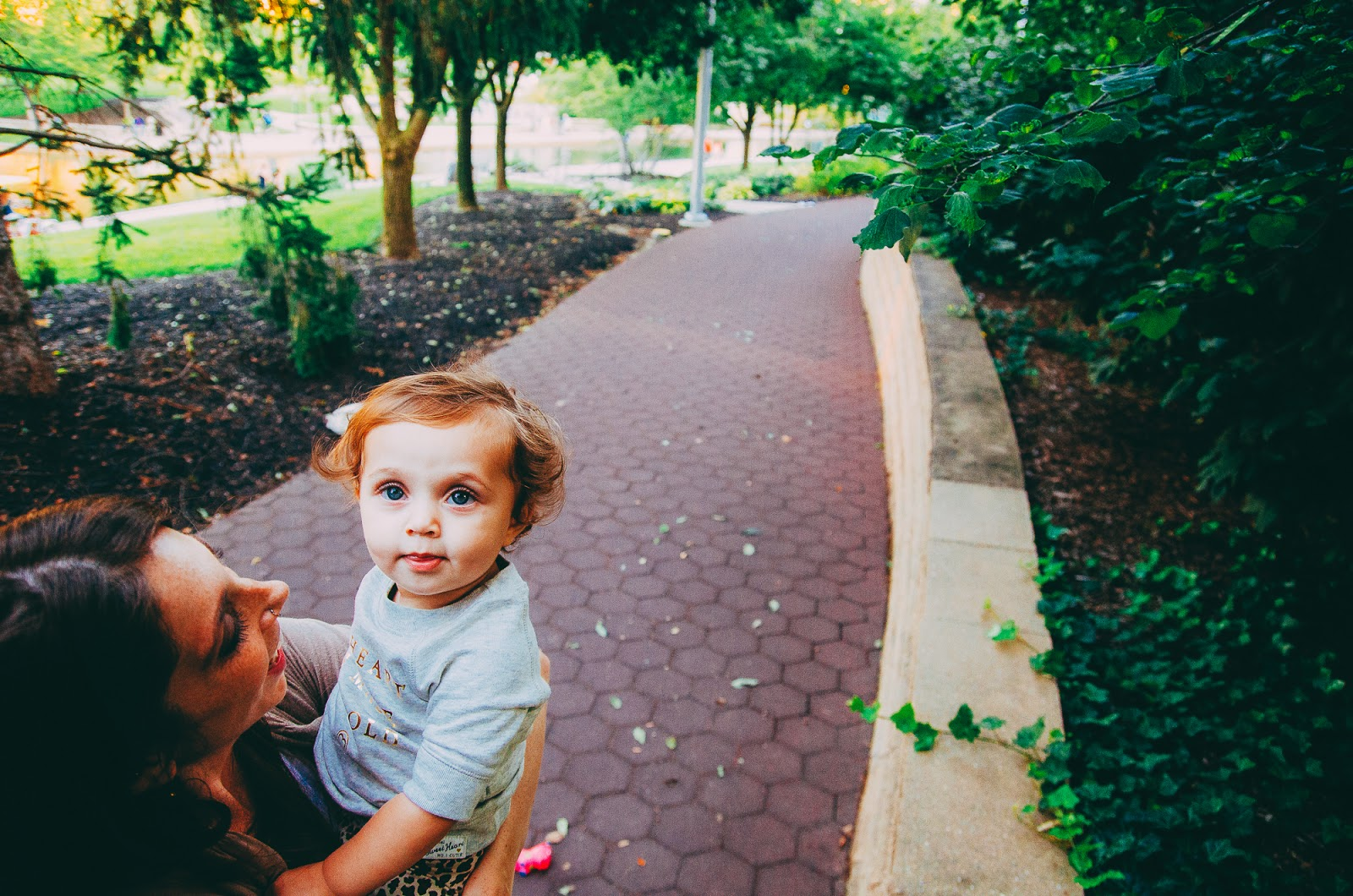 Beautiful modern family portraits are captured by Indianapolis family photographer