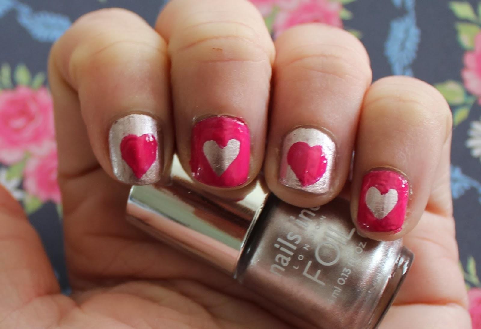 valentines nail art ideas