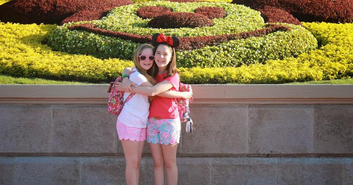 Maryland Pink And Green Lilly Pulitzer At Disney World