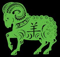 Ano do Carneiro/Cabra/Ovelha de Madeira