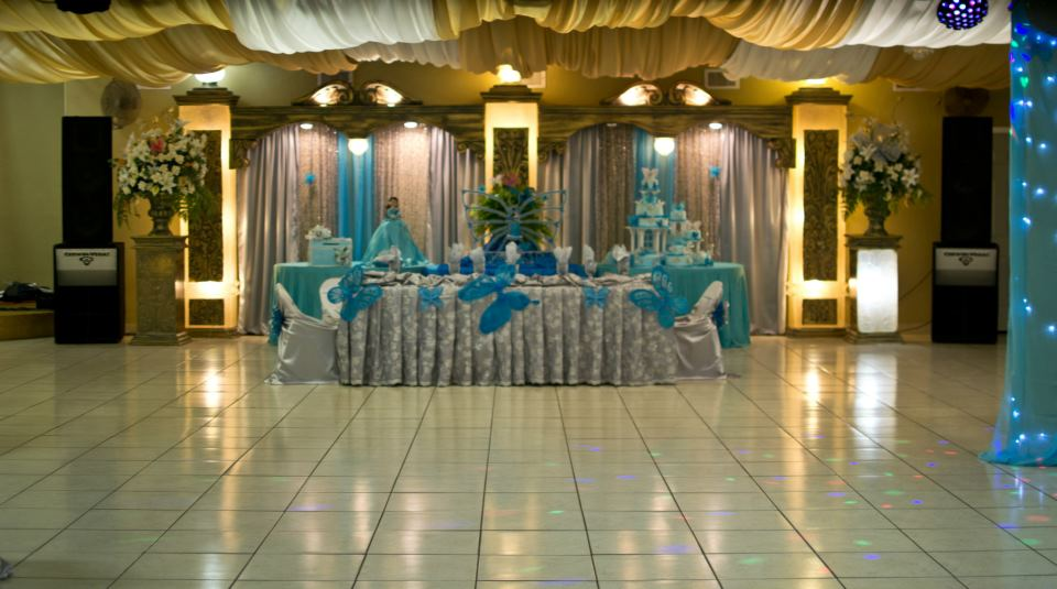 Rincon Real Hall Decorations Quinceanera Reception Hall Houston Tx Butterfli