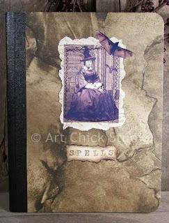 Spells Altered Art Journal
