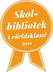 Hjulsbroskolan har ett skolbibliotek i världsklass!