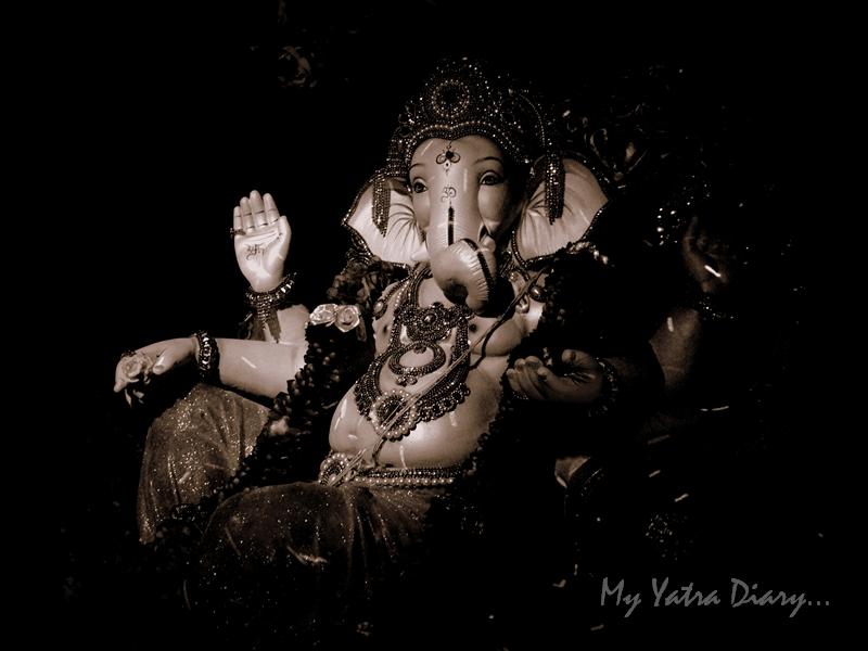 My Benevolent Ganesha, Ganesh pandal hopping, Mumbai