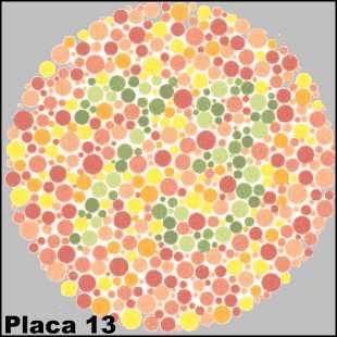 Teste de Ishihara - Placa número 13