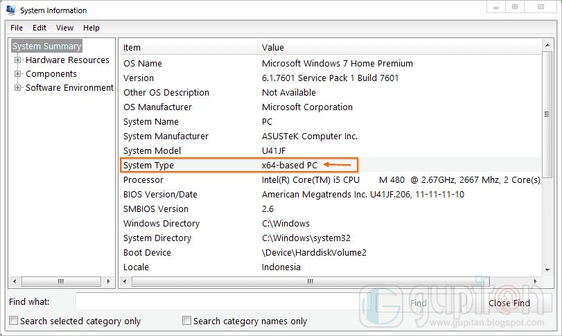 4 Cara Mengetahui Versi Bit Sistem Operasi Windows 3