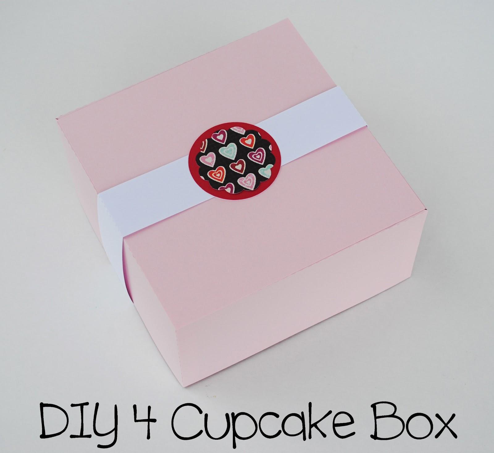 Diy 4 Cupcakes Box Wee Share