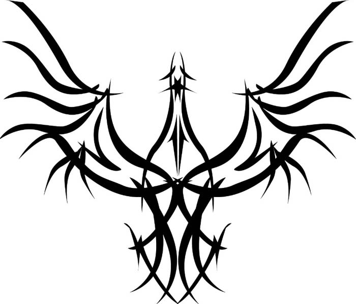 Tribal Eagle Tattoo Version 1 | tattoo gallery
