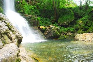 Villayón, cascada de Oneta