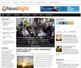NewsRight-Blogger-Template