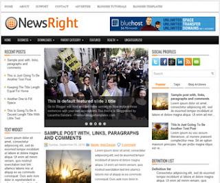 NewsRight-Blogger-Template