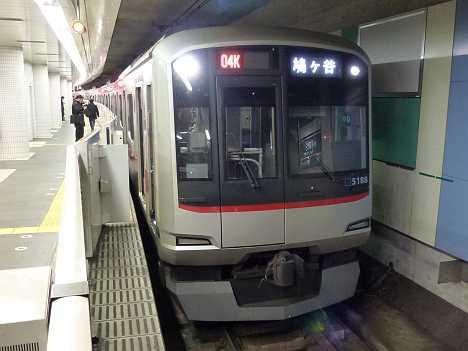 東京メトロ南北線 鳩ケ谷行き 東急5080系