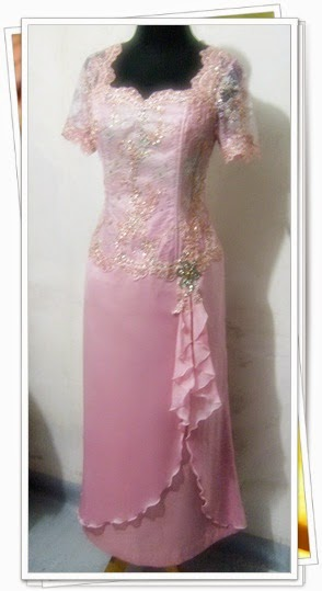 Foto Model Baju Kebaya Gamis Brokat