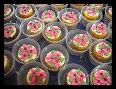 Doorgift~budget cupcakes
