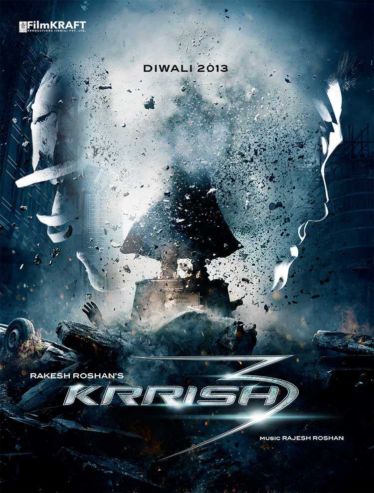 Krrish 3 First Look Poster