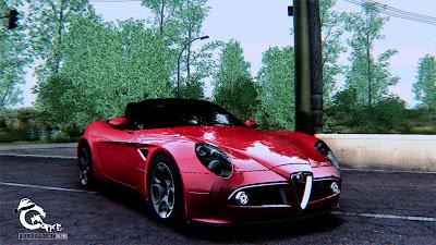GTA SA - Alfa Romeo 8C Spider 2012