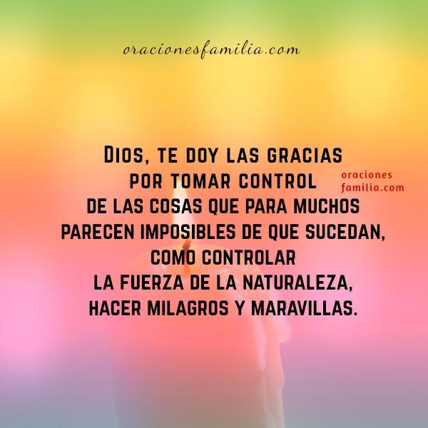 Oración de liberación, frases con oración corta en momentos de dificultades financieras, de pareja, de problemas con hijos, de situaciones difíciles de resolver, poder de Dios, milagros, maravillas.