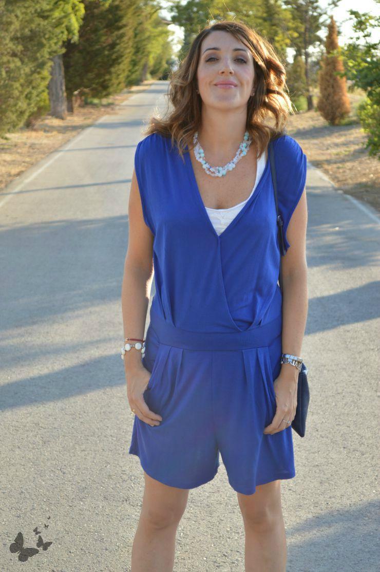 #LOOK. BLUE JUMPSUIT